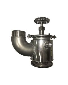 """Littlejohn carries the best quality JQ713SST QRB Valve, 3"""", steam jacketed, by  Valves for your needs"""