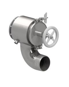 """Littlejohn carries the best quality JQ714SST 4"""" QRB valve, steam jacketed by  Valves for your needs"""