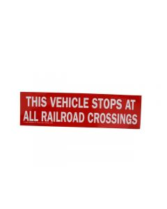 Littlejohn carries the best quality TR25R Reflective Railroad Crossing by   for your needs